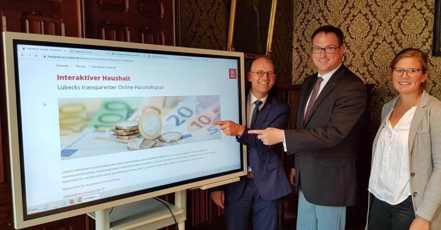 Lübeck bietet mehr Transparenz durch interaktiven Haushalt
